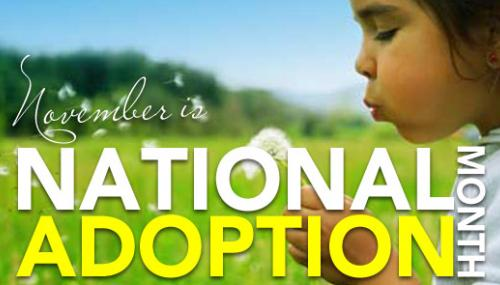 National Adoption Awareness Month: A Sweet Story